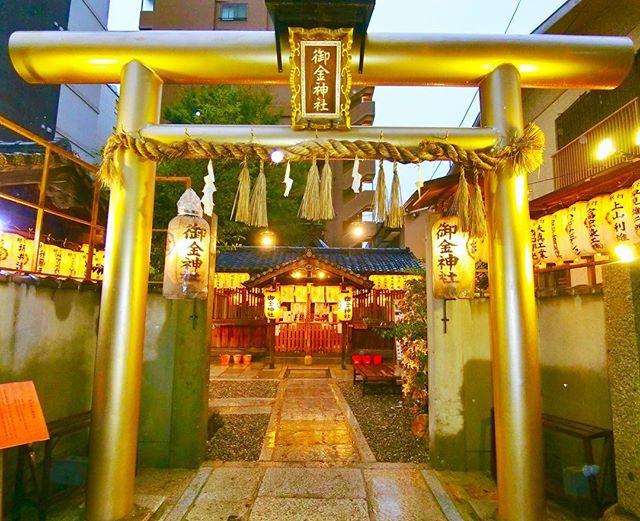 岐阜金神社(こがねじんじゃ)の御朱印やご利益(効果)、駐車場やアクセスは?【PS純金】