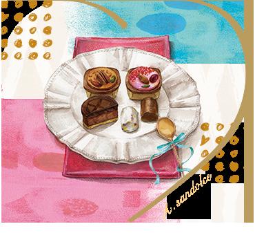 ア・サンドルチェの2018バレンタイン!!新ブランドのおすすめは⁉【アムールデュショコラ】